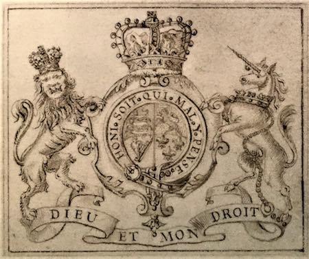 1715 Dieu et mon Droit