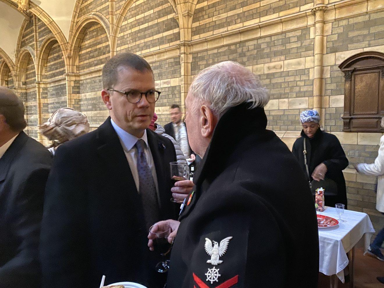Monsieur le Consul Général Guillaume Bazard